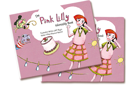 The Pink Lilly Friendship Book